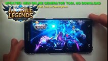 Mobile Legends Cheats Hack ADD Unlimited Diamonds Script Protected 1