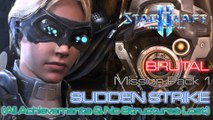 Starcraft II: Nova Covert Ops - Brutal - Mission Pack 1 - Mission 2: Sudden Strike