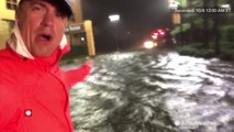 Strong winds, heavy rain batter the Gulf Coast