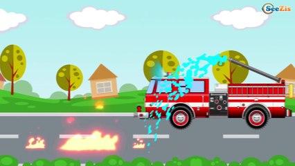 Мультфильмы про Машинки Трактор Павлик МОНСТР ТРАК Развивающие мультики для детей