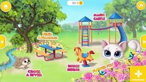 Fun Baby Pet Kitty Care - Kid Play Pet Doctor Toilet Bath DressUp With Kitty Meow Meow - My Cute Cat