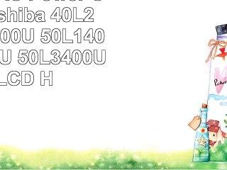 10 ft AC Power Cord for Toshiba 40L2400U 40L3400U 50L1400U 50L2400U 50L3400U