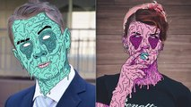Grime Art в фотошопе / how create Grime Art in photoshop