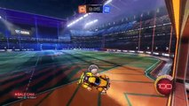 Intense Crossbar Challenge On Rocket League with Wager!