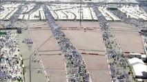 Arabie: rituel de la lapidation au hajj