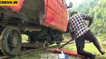 Curioso, caminhões, utilitários se tornam trens