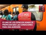 El acoso a mujeres en el Metro de la CDMX