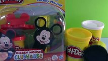 Galletas de Play Doh Mickey Mouse Clubhouse Wooden Velcro Minnie Mouse juguetes