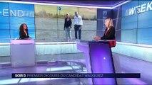 Présidence des Républicains : Laurent Wauquiez défend une droite décomplexée