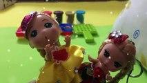 Crème de la glace jouer jeu de jouets crème glacée avec de très belles doh dargile