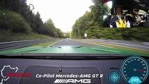 VÍDEO: ¿Te molaría ser copiloto en un Mercedes-AMG GT R en Nürburgring?