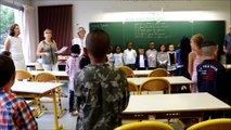 Rentrée en musique au groupe scolaire Pierre Mendès France (1)