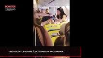 Une violente bagarre éclate dans un vol Ryanair (vidéo)