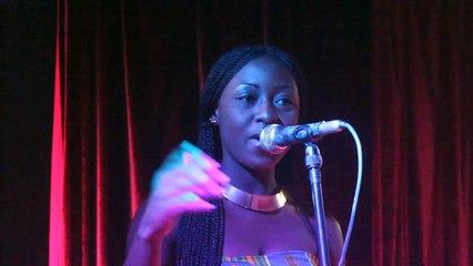 Amee, la slameuse ivoirienne éblouit le public de SuperWoman 2014-2