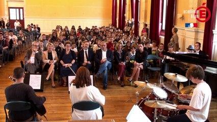 La rentrée en musique au Lycée Carnot de Dijon