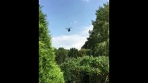 L'hélicoptère NH90 NFH de la Marine belge (recherche à Tihange le 03/08/2017)