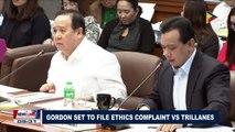 Gordon set to file ethics complaint vs Trillanes