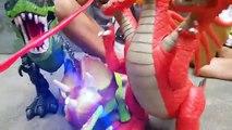 Dinosaurus Bertarung - Film Kartun Anak-anak Bahasa Indonesia - Kartun Anak Lucu 2017
