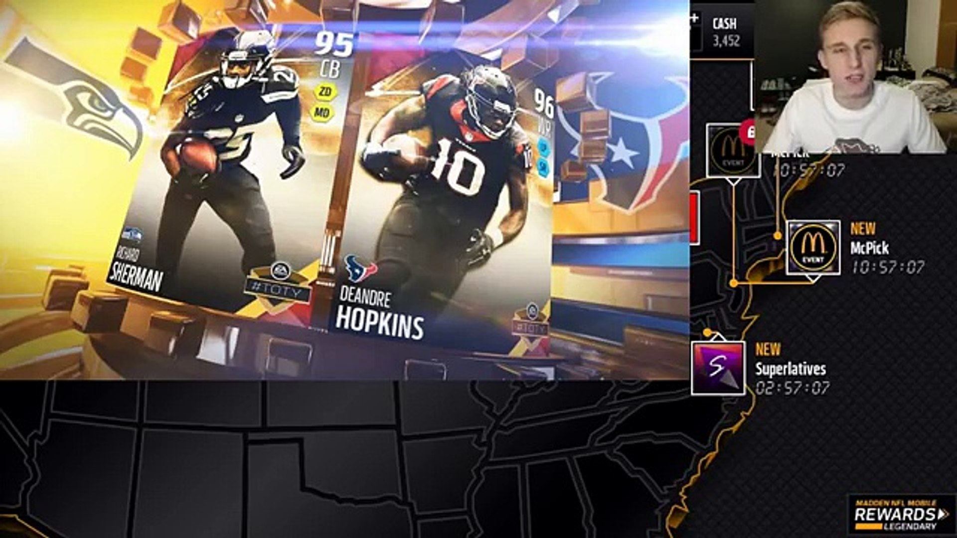 Madden NFL 16 Mobile Team of The Year Players - TOTY Elite Players