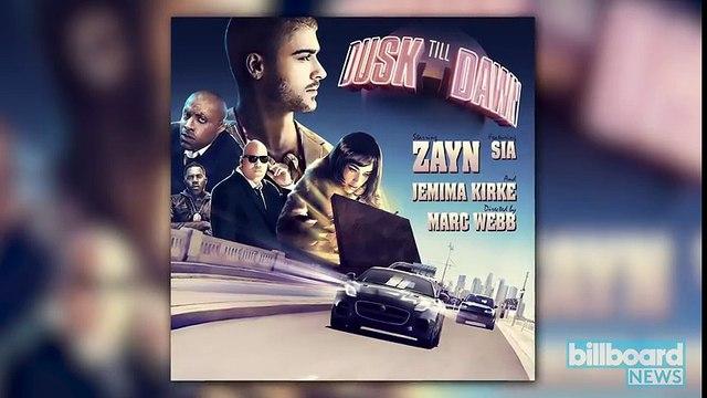 Zayn Malik Announces 'Dusk Till Dawn,' New Song Feat. Sia | Billboard News