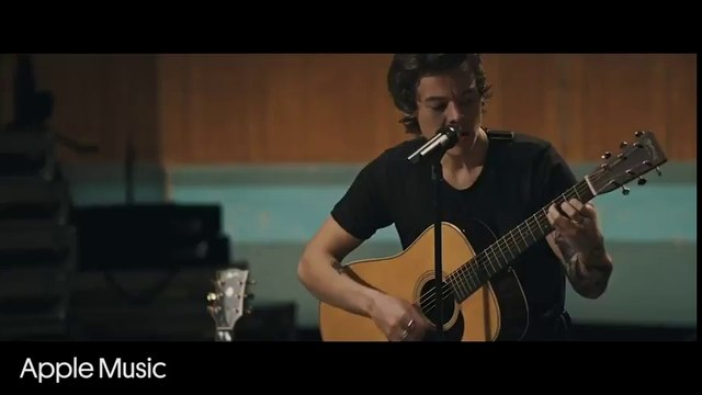 Harry Styles Releases Intimate Live Video for 'Two Ghosts' | Billboard News