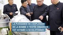 Quels dégâts provoquerait la bombe H de la Corée du Nord ?