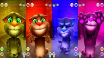 Talking Tom Cat and Talking Pocoyo Colors Reion Compilation 2017