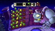 Plants vs Zombies - Escena final del juego