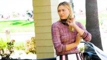 Porsche Photoshoot with brand ambassador Maria Sharapova