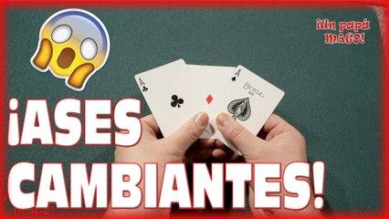 TRUCO DE MAGIA | ASES CAMBIANTES | CARTOMAGIA | APRENDE MAGIA | is Family Friendly