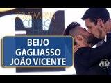 Não estava no roteiro beijo na boca, diz Ricardo Cruz da GQ Brasil / MS / JP