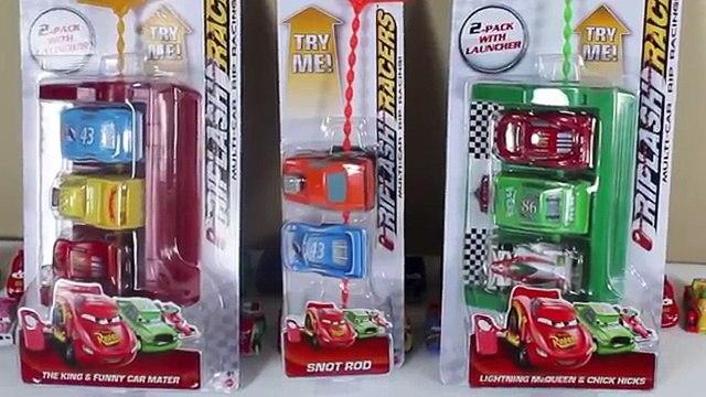 DISNEY CARS MACK LAUNCHER RIPLASH RACERS HOT ROD MATER SNOTROD - YouTube - Modern toys for