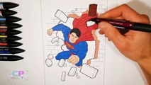 Lego Superman Coloring Pages for Kids Part 12 , Superman Coloring Pages Fun ,Coloring Page
