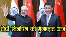 PM Modi in BRICS: PM Modi to meet Xi Jinping today, after Doklam Dispute | वनइंडिया हिंदी
