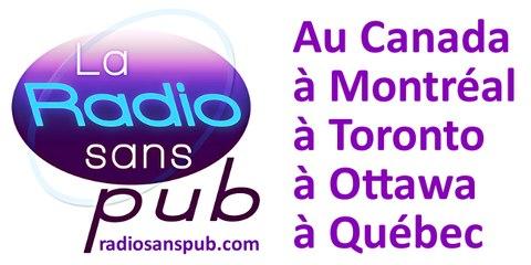 La Radio Sans Pub au Canada