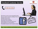 Round The Clock Facebook Customer Service Available 1-850-361-8504