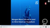 Morgan Bourc'his : « l'homme bleu » et bronze