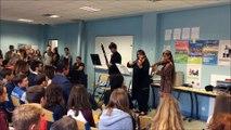 La rentrée en musique au Collège Jules-Ferry de Conty (80)