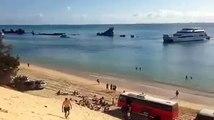 Leaving Moreton Island | Moreton Island Holiday Packages | Moreton IslandActivities Australia