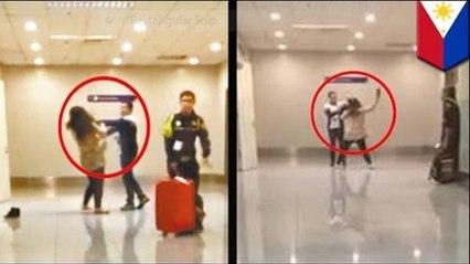 นักท่องเที่ยวจีนลำบาก ถูกจัดการที่สนามบิน