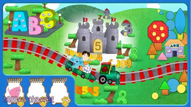 BLUES CLUES - Blues Gold Blue Challenge - New Blues Clues Game - Online Game - Gameplay