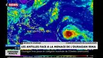 L'ouragan Irma vient de passer en force 5, la puissance maximale, et arrive sur Saint Martin et Saint Barthelemy