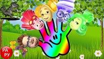 La famille doigt chanson tous les pour dessins animés caractères doigts Fixiki Fixies de la famille en développement