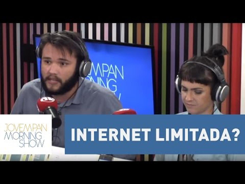 Internet limitada? Carlos Aros traz detalhes sobre franquia de dados | Morning Show