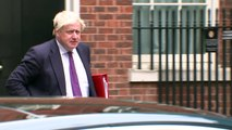 Brexit Trio arrive in Downing Street for Cabinet Meeting