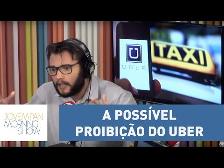 Carlos Aros informa o que há de novo na possível proibição do Uber | Morning Show