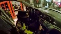 Par par chorégraphie pour fille mon policier Musée des enfants de lofficier de police dans la police voiture de police jouer eva simons ft