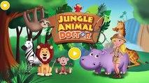 Animaux par par soins enfants docteur girafe Comment Apprendre fente à Il jungle animal jungle tutotoon