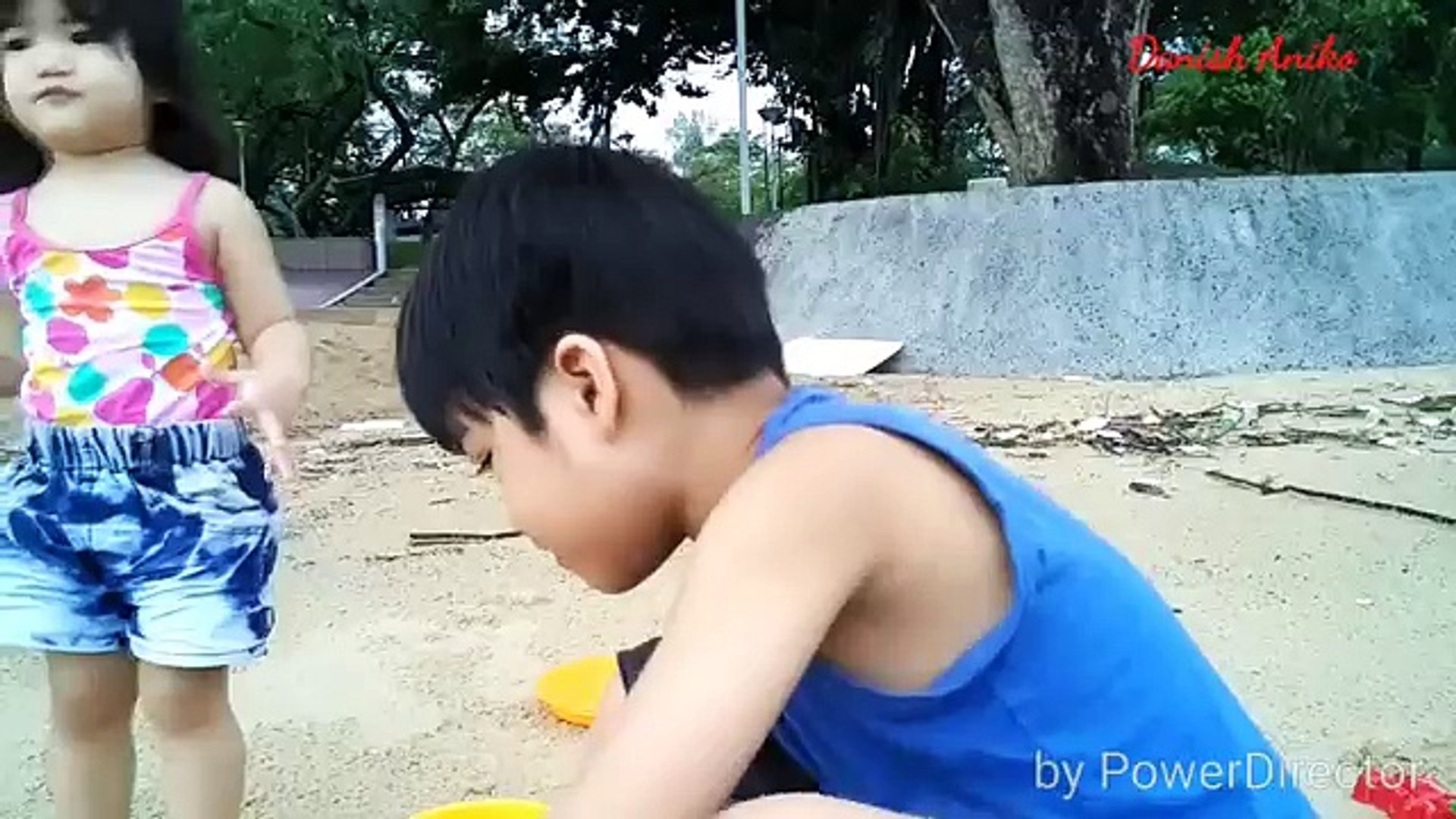 Play in the Sand, Sand Pit play Kids Fun, Fun Activity For Kids