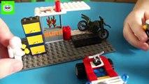 Ciudad fuego historieta del fuego Lego City en los pantanos fuego ATV 60105 lego